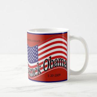 """Barack Obama Inauguration """"Change"""" Mug"""
