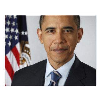 Barack Obama Custom Announcement