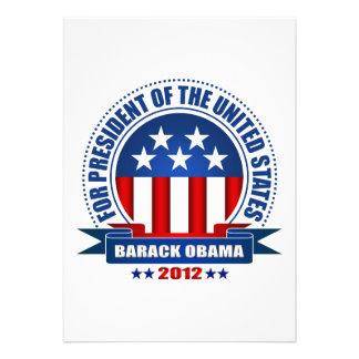 Barack Obama Personalized Invitation