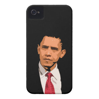 Barack Obama iPhone 4/4S Case-Mate Barely There Case-Mate iPhone 4 Cases