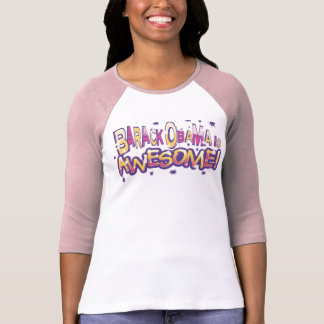 Barack Obama Is Awesome  T-shirt for Girls
