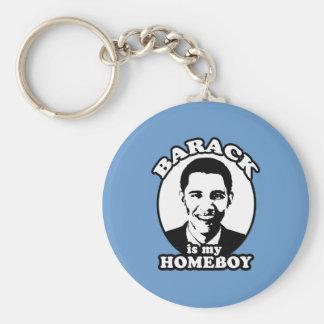 Barack Obama is my homeboy Key Ring