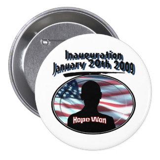 Barack Obama January 20th 2009 Inauguration Pinback Button