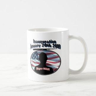 Barack Obama January 20th 2009 Inauguration Coffee Mug