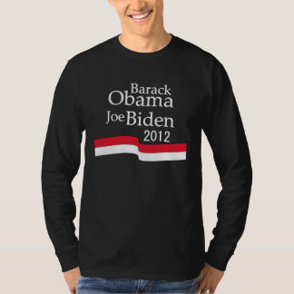 Barack Obama & Joe Biden 2012 Long Sleeve T-Shirt