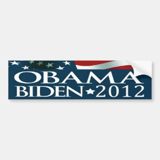 Barack Obama Joe Biden Election 2012 Bumper Sticker