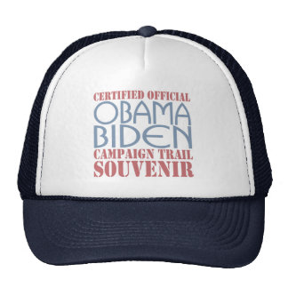 Barack Obama Joe Biden Souvenir Cap