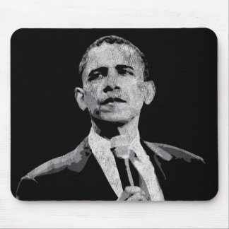 Barack Obama - Leadership Mouse Pad