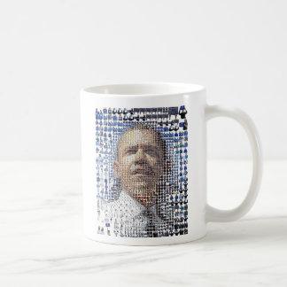 barack-obama-mosaic-portrait, Barack Obama44th ... Mug
