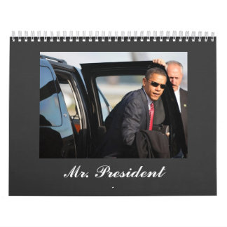 Barack Obama - Mr. President Wall Calendar