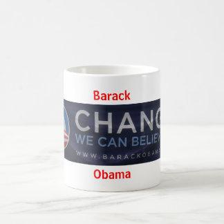 Barack Obama Classic White Coffee Mug
