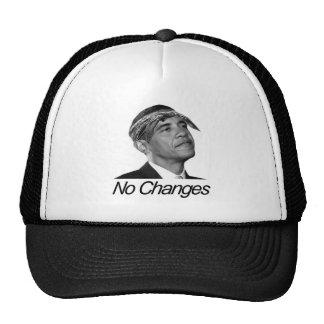 Barack Obama No Changes Cap