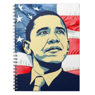 Barack Obama Note Book