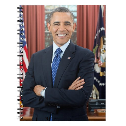 Barack Obama Spiral Note Book