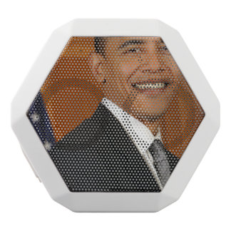 Barack Obama Official Portrait White Boombot Rex Bluetooth Speaker