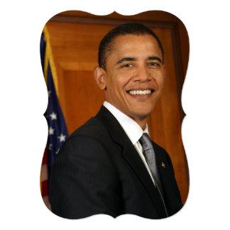 Barack Obama Official Portrait Card