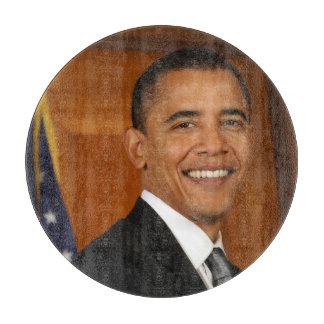 Barack Obama Official Portrait Cutting Board