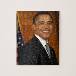 Barack Obama Official Portrait Jigsaw Puzzle