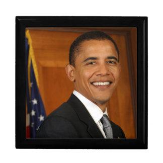 Barack Obama Official Portrait Large Square Gift Box