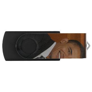 Barack Obama Official Portrait Swivel USB 2.0 Flash Drive