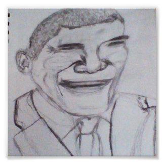 Barack Obama Photo Print