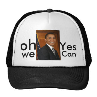 barack-obama-portrait1 oh Yes we Can Hats