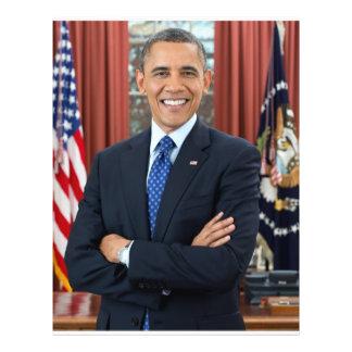 Barack Obama portrait Custom Flyer