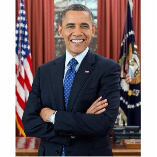 Barack Obama portrait Standing Photo Sculpture