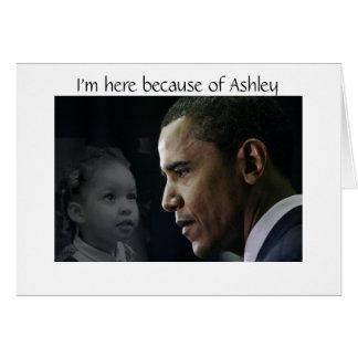 Barack Obama Postcards- Ashley Card