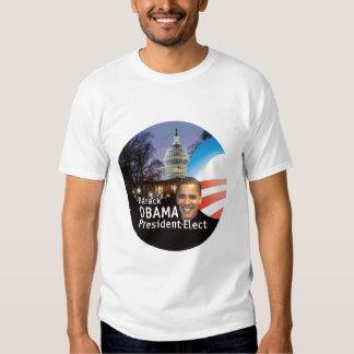 Barack Obama President Elect Capitol T-Shirt