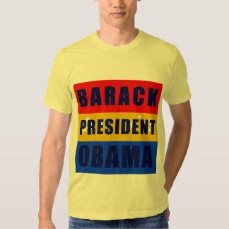 Barack Obama President in Bars Shirt