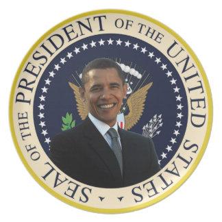 Barack Obama Presidential Seal Plate