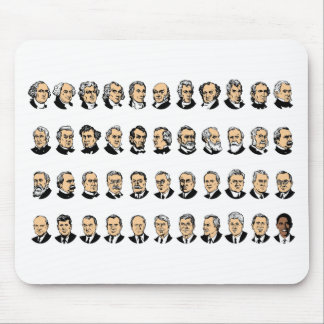 Barack Obama - Presidents Of The United States Mousepads