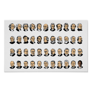 Barack Obama - Presidents Of The United States Poster
