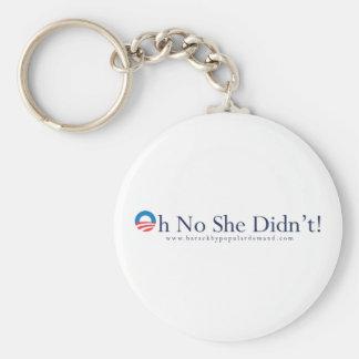 Barack Obama Primary Keychain