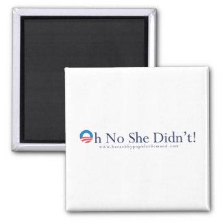 Barack Obama Primary Magnet