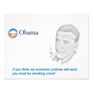 Barack Obama Protest Personalized Announcement