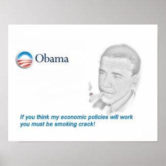 Barack Obama Protest Poster