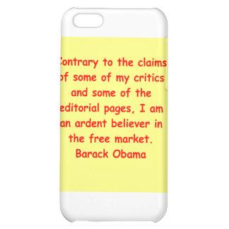barack obama quote iPhone 5C cases