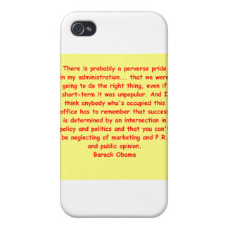 barack obama quote iPhone 4/4S cases