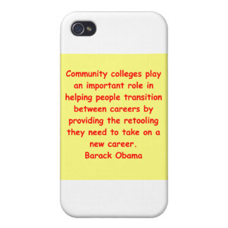 barack obama quote iPhone 4 cover