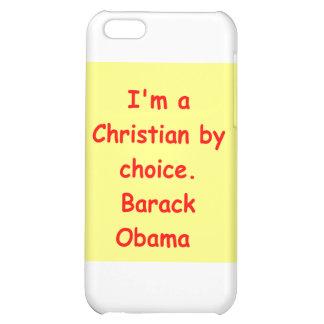 barack obama quote case for iPhone 5C