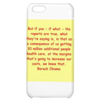 barack obama quote iPhone 5C cover