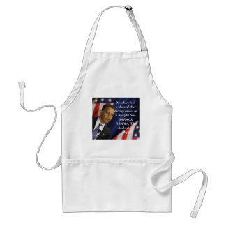 Barack Obama Quote on History Aprons