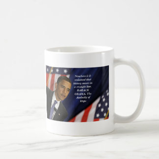 Barack Obama Quote on History Coffee Mugs