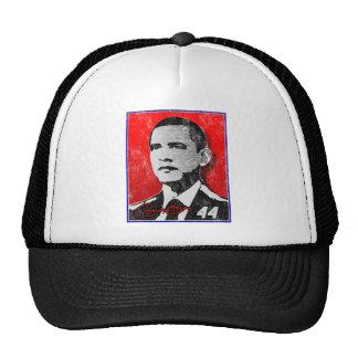 Barack Obama Red Portrait Hat