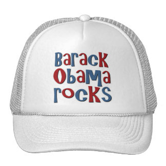 Barack Obama Rocks Hats