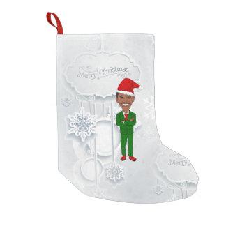 barack obama santa christmas stocking