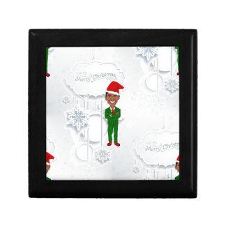 barack obama santa gift box
