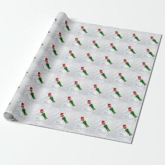 barack obama santa wrapping paper